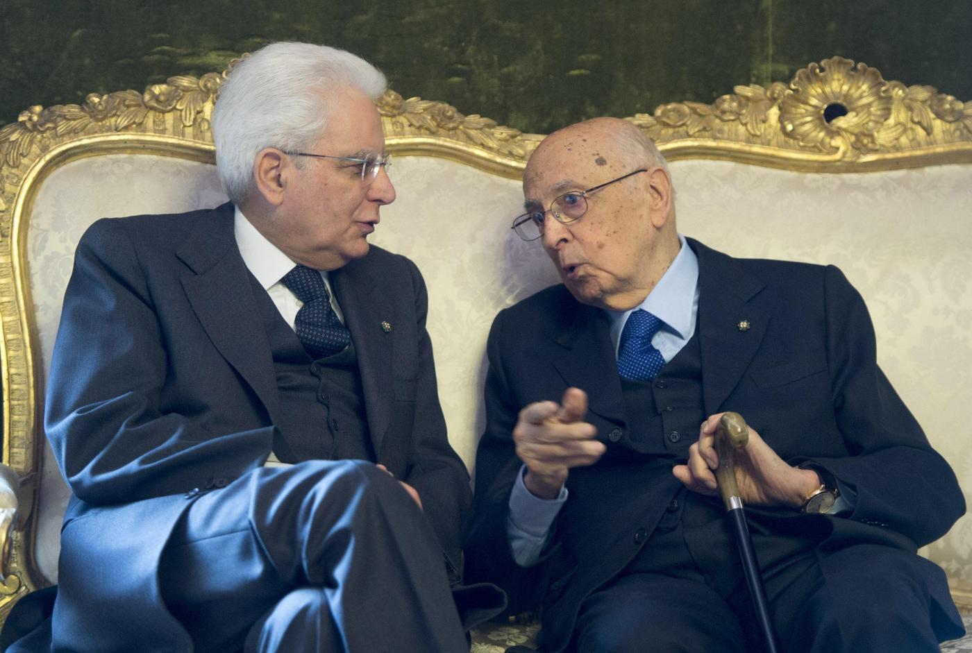 Risultati immagini per L'oscuro signore - Mattarella come Napolitano