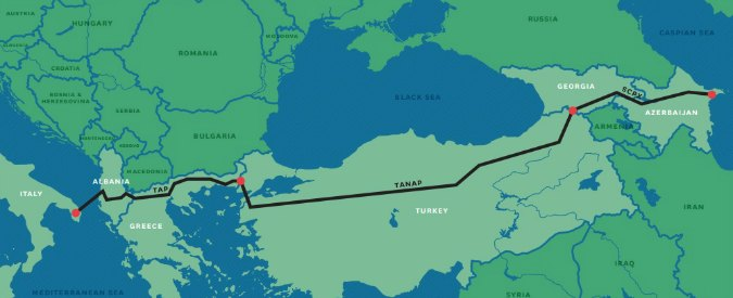 Tap, Consulta giudica inammissibile il ricorso della Regione Puglia: 'Valido atto che ha autorizzato costruzione gasdotto'
