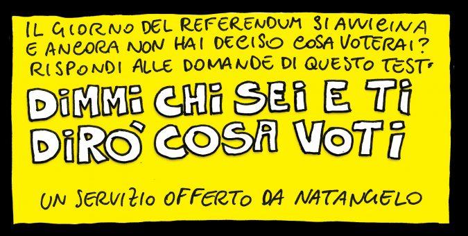 Per gli indecisi, ecco il ReferendumTest