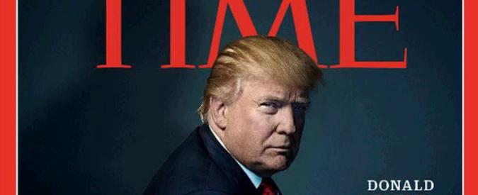 """Usa, Trump uomo dell'anno per 'Time': """"Presidente degli Stati divisi d'America"""""""