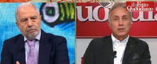 """Renzi, Travaglio: """"Se non si fosse circondato di soli leccapiedi, avrebbe avuto risultati diversi"""""""
