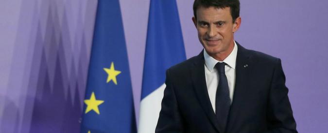 """Francia, il premier Manuel Valls: """"Mi candido alla presidenza della Repubblica"""""""