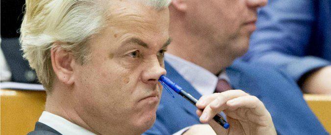 Razzismo travestito da libertà di espressione, il 'capolavoro' di Wilders
