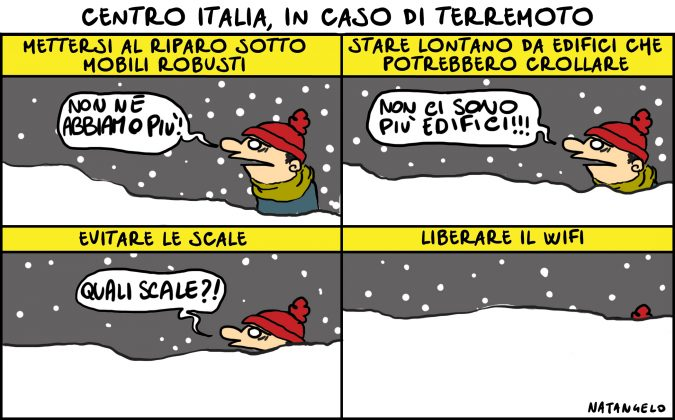 Centro Italia, in caso di terremoto
