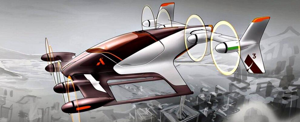 """Auto volante, Airbus: """"alla fine del 2017 il primo prototipo di taxi elettrico a decollo e atterraggio verticale"""""""