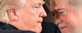 """Trump, è Bannon il """"vero presidente"""": il razzista che ha scritto il bando anti-Islam e ora siederà nel Consiglio di Sicurezza"""