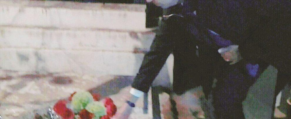 """Alfano sulla tomba di Craxi: """"Era un dovere essere qui"""""""