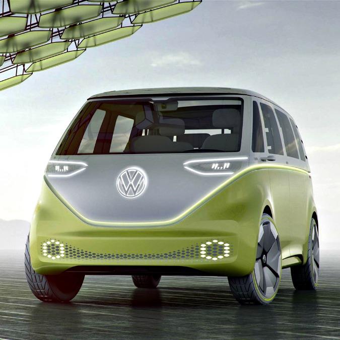 Detroit, Volkswagen presenta il nuovo Bulli. Elettrico e self driving – FOTO