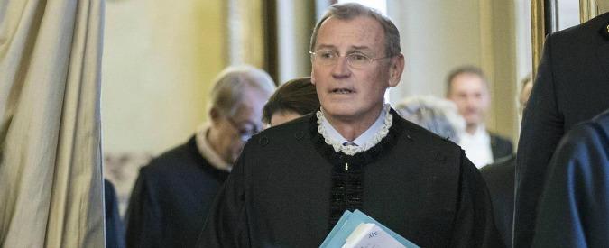 Zanon, la Consulta respinge le dimissioni. Il giudice indagato per peculato lavorerà da casa (con stipendio da 360mila euro)