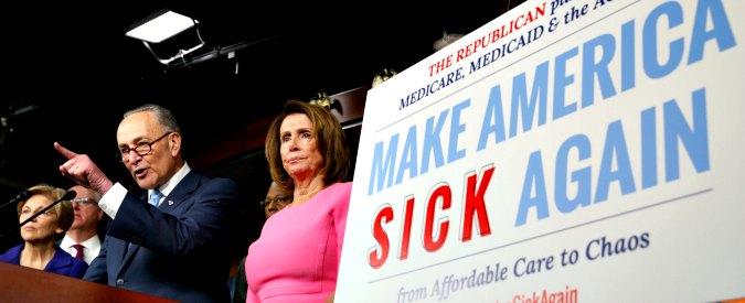Obamacare, guerra tra Democratici e Repubblicani. Che vogliono cancellarlo, ma non hanno un piano alternativo