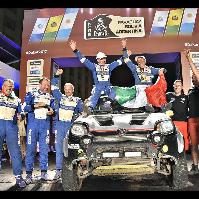 Dakar 2017, al traguardo c'è anche la Panda 4×4 Cross