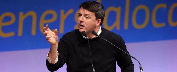 Pd, Renzi: 'Presto il voto, bisogna arrivare a 40%. Grillo? Pregiudicato spregiudicato che parla di povertà da resort in Africa'