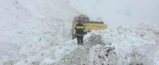 """Schiavi d'Abruzzo sotto 5 metri di neve, colletta per comprare una turbina. """"E usiamo anche i soldi della festa patronale"""""""