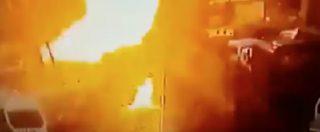 Turchia, autobomba a Smirne: il momento dell'esplosione