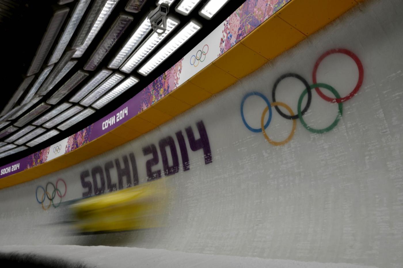 Sochi 2014: Bob a due maschile