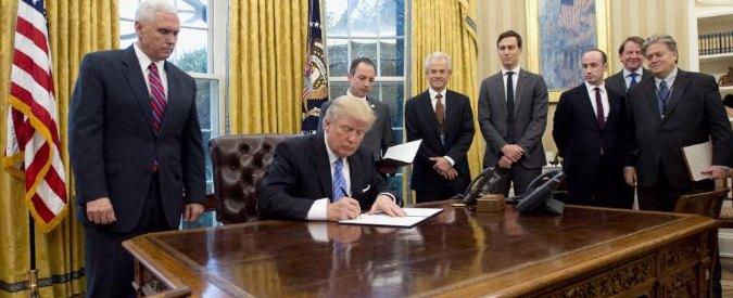 Trump, primo colpo al libero scambio: via gli Usa dal Tpp, l'accordo Trans-Pacifico