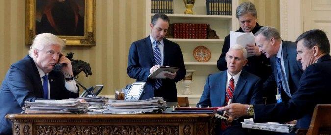 """Trump-Putin, Mosca: """"Al telefono hanno parlato di reale coordinamento contro l'Isis, crisi ucraina e rapporti futuri"""""""