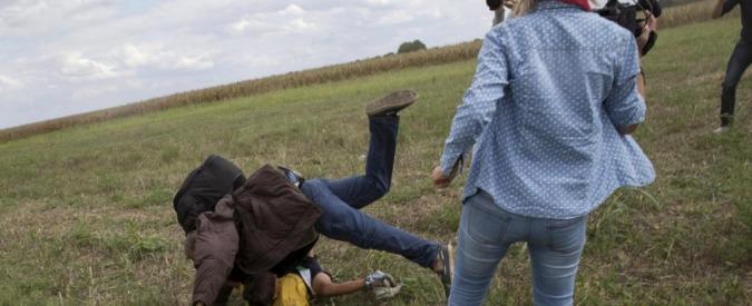 Ungheria, sgambettò migranti in fuga: giornalista condannata a tre anni