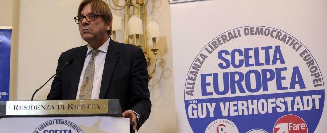 Alde, il gruppo europeista bipartisan che accoglie (quasi) tutti: da Monti a Prodi fino ai Ciudadanos – SCHEDA