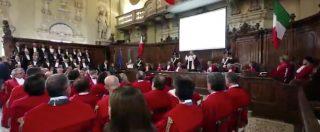 """Anno giudiziario, Presidente corte d'appello di Bologna: """"Giustizia basata sul precariato"""""""