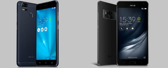 CES 2017: Asus presenta ZenFone 3 Zoom e ZenFone AR, il primo smartphone con 8GB di RAM