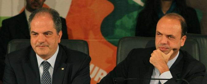 Sicilia, Alfano ufficializza il patto col Pd: il vice di Micari è l'uomo del sottosegretario Castiglione. E Morgan va con Sgarbi