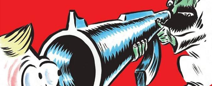 """Charlie Hebdo, numero speciale per i due anni dalla strage: """"2017, la fine del tunnel"""". Ma è la canna di un Kalashnikov"""
