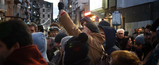 Corteo antimafia a Catania, alla testa ci sono i figli dei quartieri