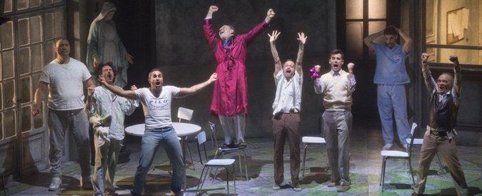 Teatro: Alessandro Gassman porta 'Qualcuno volò sul nido del cuculo' nel manicomio di Aversa