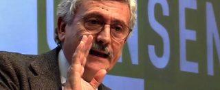 """Pd, D'Alema show contro Orfini: """"Voto subito? Sconcertante. Inciucione? Rischio governo M5S-Lega"""""""