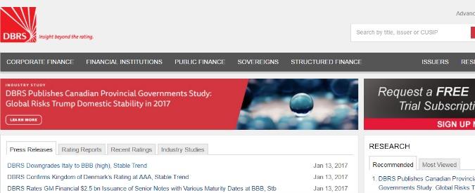 Rating, l'agenzia Dbrs taglia il giudizio dell'Italia a BBB. Così sale il costo del denaro per le banche