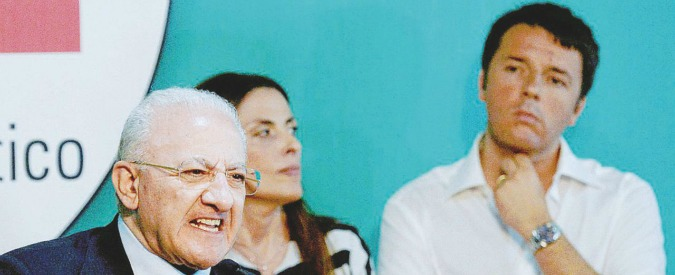 Campania, lista civica di De Luca diventa partito: ipotesi allontanamento dal Pd di Renzi? Il governatore smentisce. Per ora