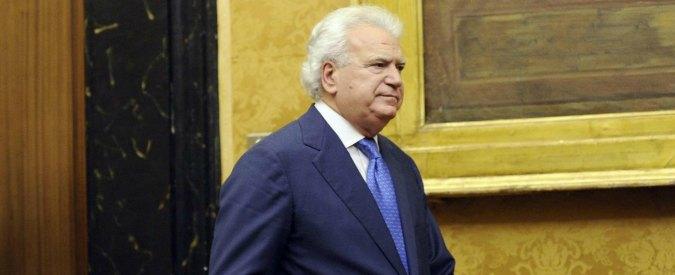 """Verdini: """"Renzi mi disse di non andare con Gentiloni. Voleva un governo fragile. Ed elezioni a giugno o a settembre"""""""
