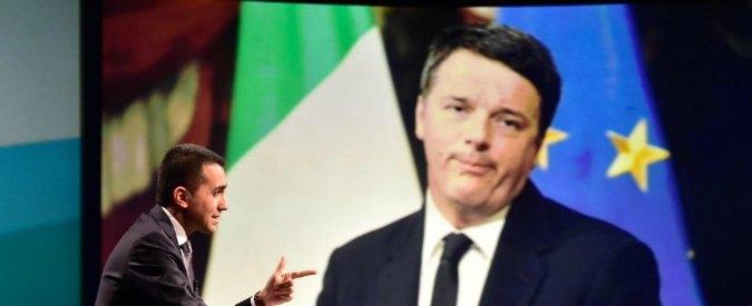 """Di Maio sfida Renzi a confronto tv. Lui accetta: """"A martedì sera amici"""". La Rai propone """"Porta a Porta"""" con Vespa"""