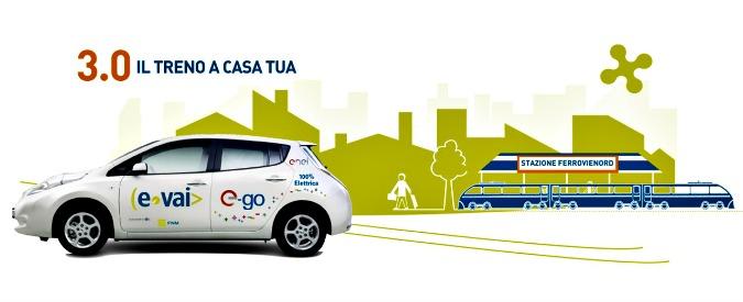 Lombardia, il car-sharing elettrico va a braccetto col treno