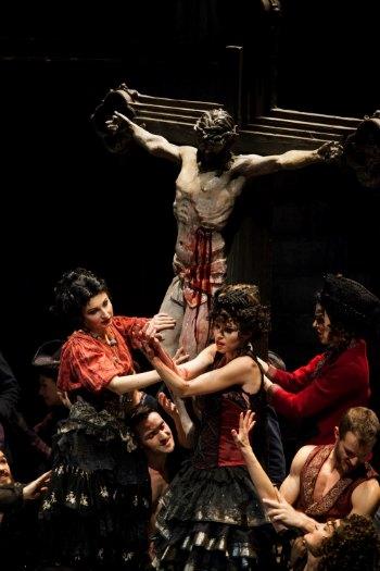 Opera di Firenze. Prima del FAUST di Charles Gounod.