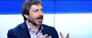 """M5s, Renzi: """"Sono un algoritmo non un partito"""", Fico: """"Bugia. Cerca di buttare fango. Pensi alle sue sconfitte"""""""