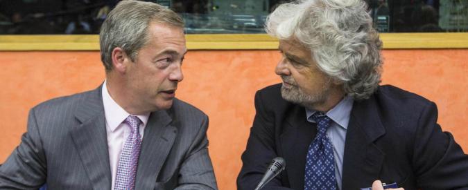 Grillo: 'Voto online per lasciare Efdd in Ue. Alde è l'alternativa'. Sibilia e Morra: 'Meglio soli che male accompagnati'
