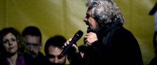 """M5s, Pd querela Grillo per un post sul blog. Lui: """"Non era firmato, non sono responsabile. I dem rosicano"""""""
