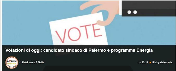 M5s Palermo, via al voto online per scegliere il candidato sindaco: sfida Forello-Gelarda. Multa per chi lascia