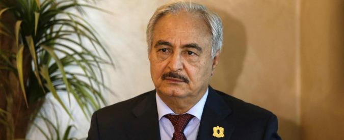 Libia, Alfano annuncia aiuti umanitari. Haftar rifiuta: 'Prima via le vostre truppe'