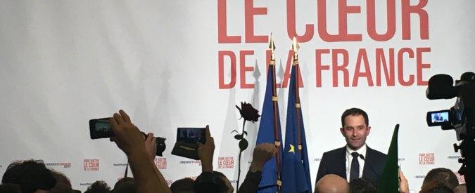 """Francia, la festa dei ventenni per Hamon: """"Perderemo? Almeno via Valls. Era come Renzi, ora torna la sinistra"""""""