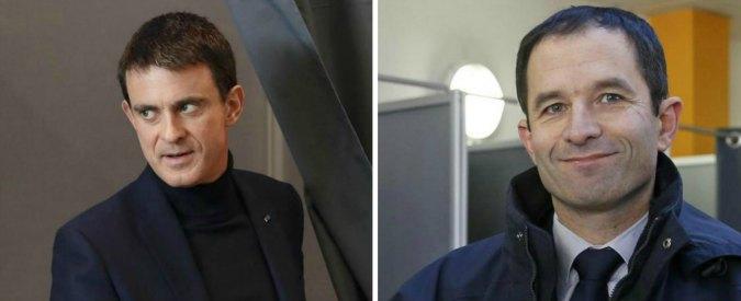 """Primarie socialisti, il """"Sanders francese"""" Hamon davanti a Valls. Base spaccata: """"Più sinistra"""". """"No, serve realismo"""""""