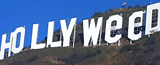 usa hollywood diventa hollyweed burlone in azione la notte di capodanno il fatto quotidiano. Black Bedroom Furniture Sets. Home Design Ideas