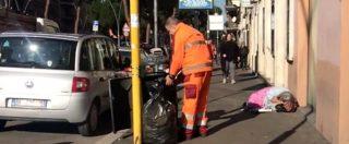 """Roma, nei giorni dell'emergenza freddo tra senzatetto e povertà: """"1200 posti per 7800 persone"""""""