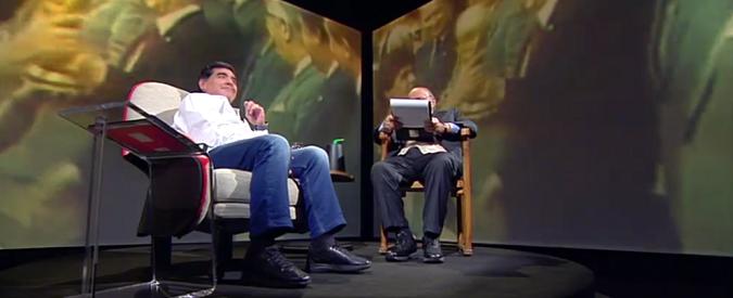 Costanzo intervista Maradona, dialogo tra due fantasisti al declino?