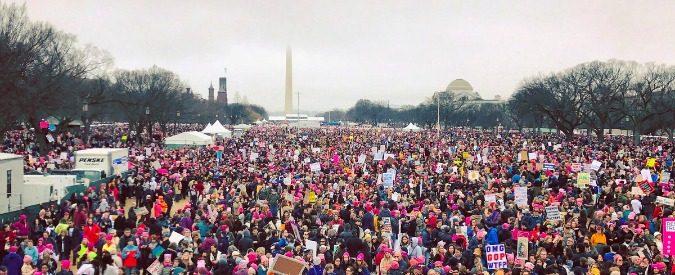 Marcia delle donne, 'the pussy grabs back'. Una protesta per i diritti di tutti