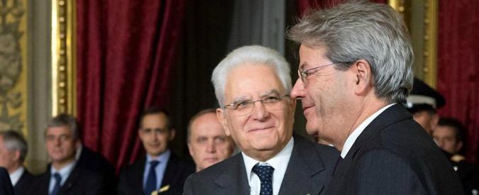 """Discorso di Mattarella, Gentiloni: """"Stella polare"""". Salvini: """"Una vergogna"""". Renzi chiama il presidente: """"Condivisione"""""""
