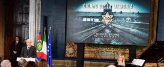 """Giorno della memoria, Mattarella: """"Non dimenticare le nostre colpe. Il germe dell'intolleranza si sparge ancora"""""""