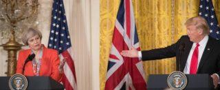 """Usa, il primo incontro di Trump è con la May: """"Dobbiamo ridare prosperità ai nostri popoli"""""""